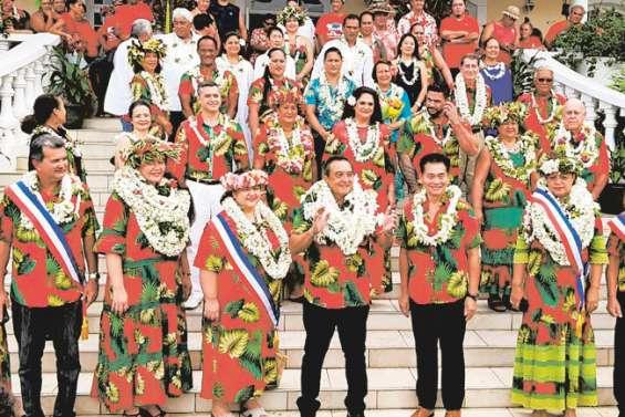 Buillard réélu à Papeete, dans une ambiance tendue