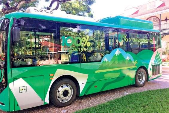 Le bus 100% électrique à la conquête du Fenua