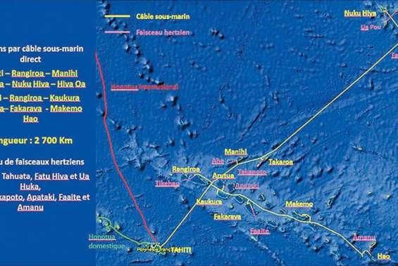 Tuamotu et Marquises : haut débit à Noël