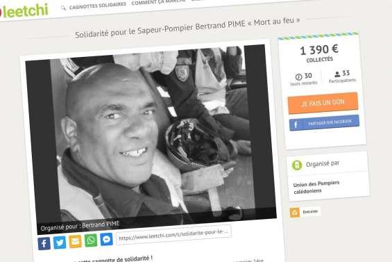 Une cagnotte sur Internet pour aider les proches de Bertrand Pimé