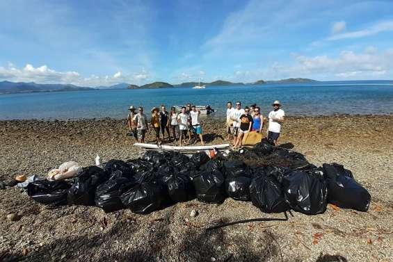 250 kg de déchets collectés par Caledoclean à la Pointe Toro