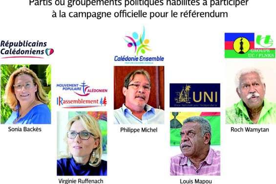 La précampagne du référendum sur les rails