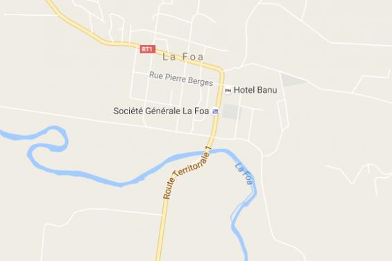 Deux blessés dans un accident à l'entrée de La Foa