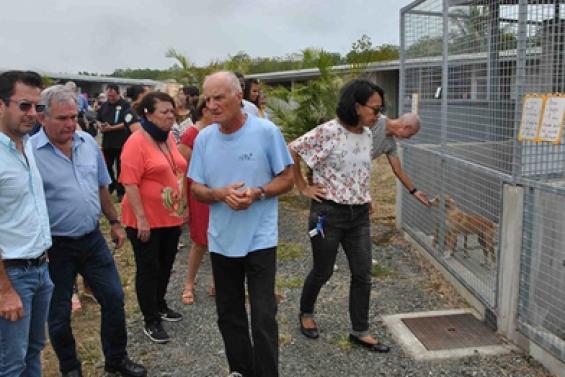 Le nouveau refuge de la Spanc inauguré à Koutio