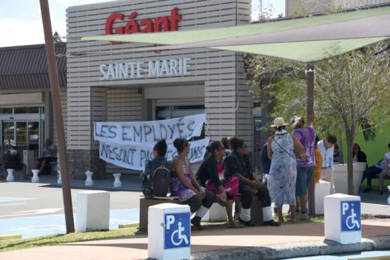 L'accès au Géant Sainte-Marie bloqué