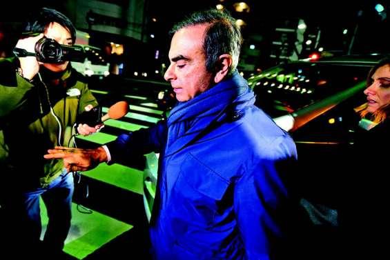 L'ex-patron de Renault-Nissan, Carlos Ghosn, de nouveau placé en garde à vue