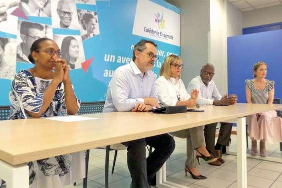 Calédonie ensemble souhaite différer les autres référendums