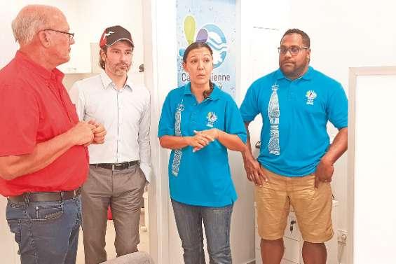 Une nouvelle agence clientèle de la Calédonienne des Eaux, à Boulari