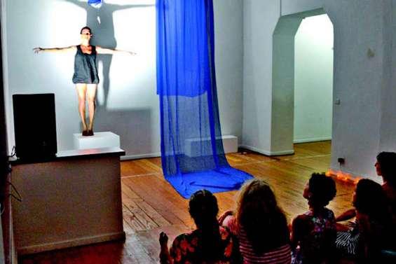 Le spectacle au rendez-vous de l'ouverture du Centre d'art