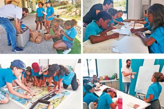 Le centre des visiteurs reçoit ses premiers scolaires