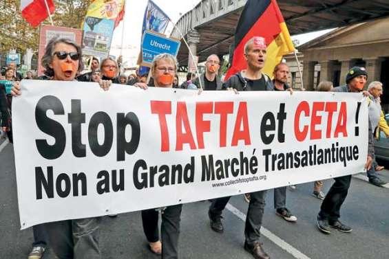 Les opposants au libre-échange ne désarment pas