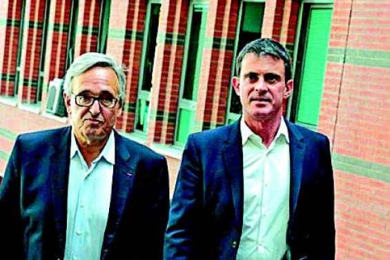 Francis Chouat succède à Manuel Valls