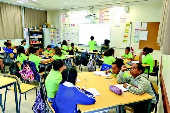 Faute d'école, deux classes de CM2 hébergées au collège d'Apogoti
