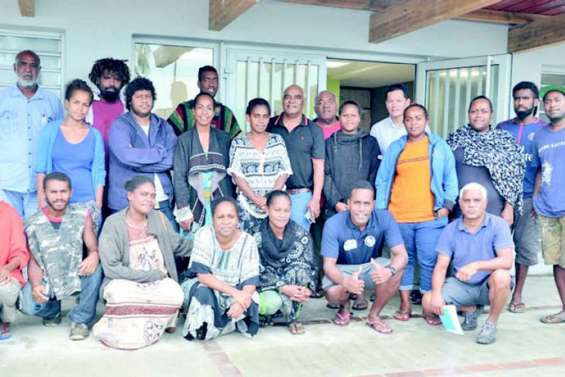 Le premier conseil municipal des jeunes Si Nengone