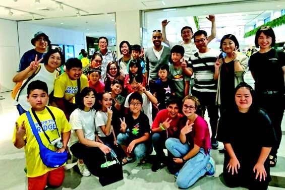Des collégiens de Dumbéa-sur-Mer ambassadeurs de la Calédonie au Japon