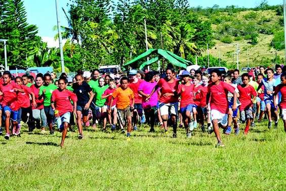 510 élèves à l'assaut des collines de Pandop