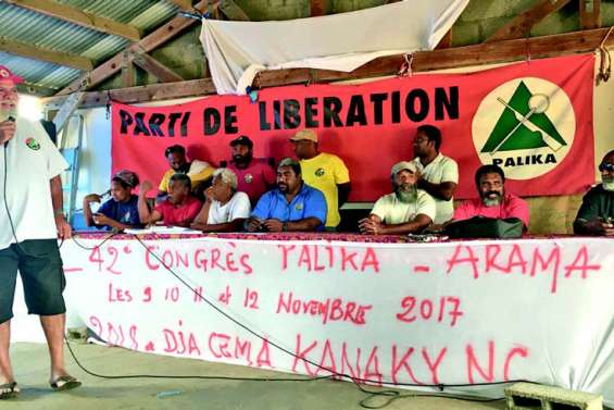 Le Palika soutient l'indépendance avec partenariat