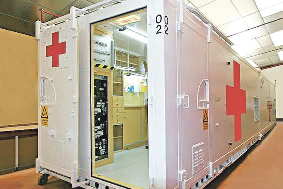 Un conteneur médicalisé idéal pour les îles