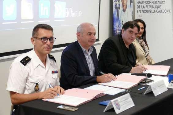 Une convention pour « calédoniser » le corps des officiers de gendarmerie