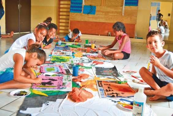 Des vacances scolaires créatives et sportives