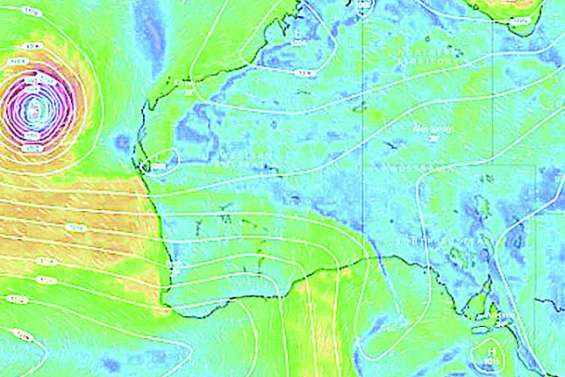 L'Australie cernée par les cyclones