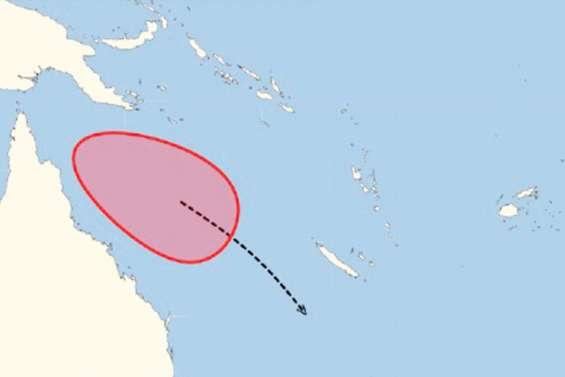 Un possible cyclone en formation