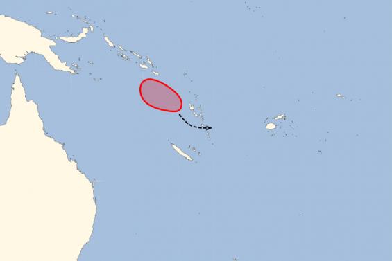 La Calédonie devrait être épargnée par la dépression tropicale en cours de formation