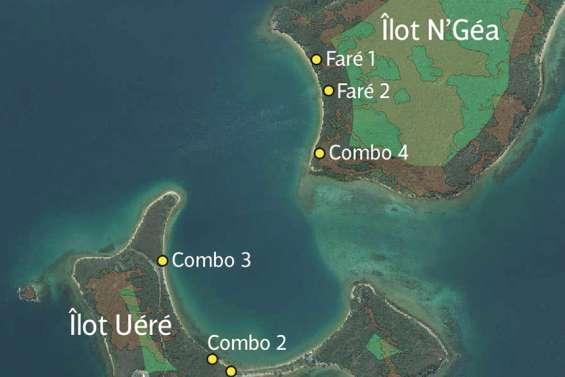 La province va aménager des farés sur les îlots Sainte-Marie et Uéré