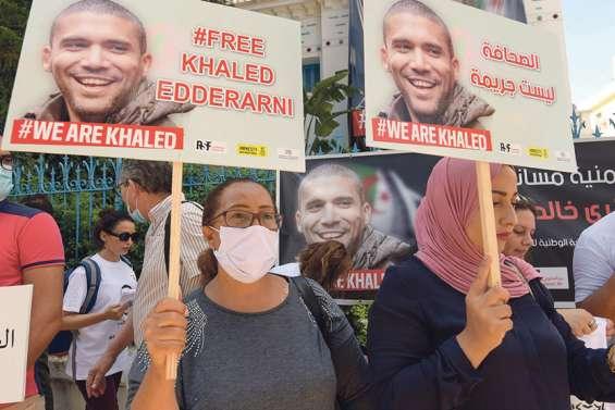 Lourde condamnation pour le journaliste Khaled Drareni