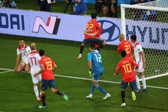 Espagne-Russie et Portugal-Uruguay en 8es de finale