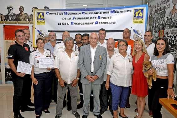 Les pompiers calédoniens récompensés