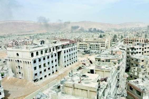 Attaque chimique : les experts sont à Douma