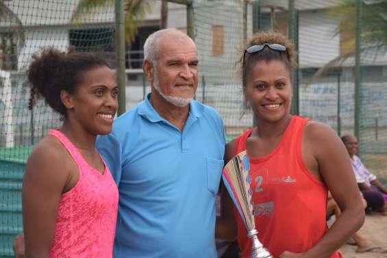 Beach-Volley : Les soeurs Kohnu et les Moustiques sacrés champions de Calédonie