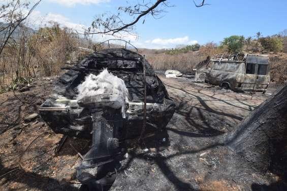 Incendie à Koutio-Koueta : les habitants s'interrogent