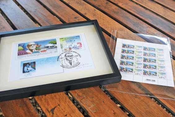 Un timbre à l'effigie de René Catala, le père de l'IRD