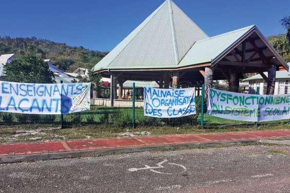 L'école du village bloquée par des parents d'élèves