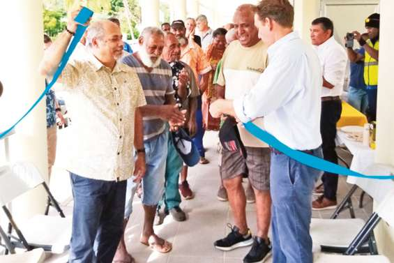 L'agence EEC de Canala inaugurée mardi