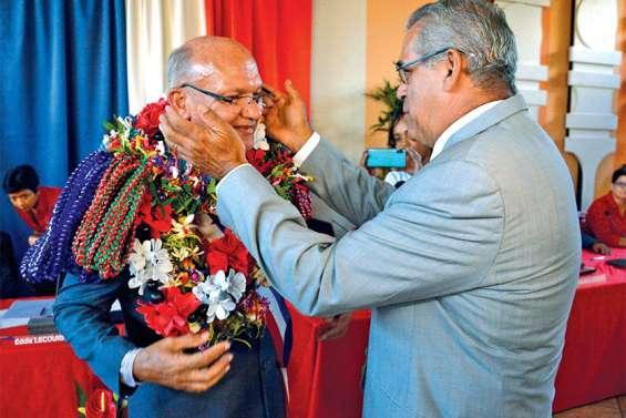 Eddie Lecourieux succède à Eric Gay et prend, à 56 ans, les rênes de la commune