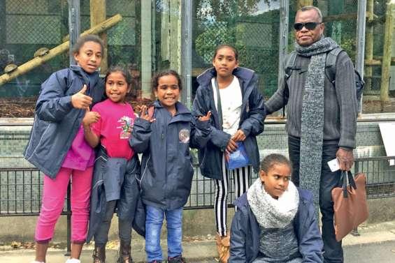 Des enfants de Lifou en Métropole sur les traces des tirailleurs