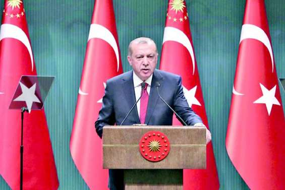 Erdogan brigue des pouvoirs élargis