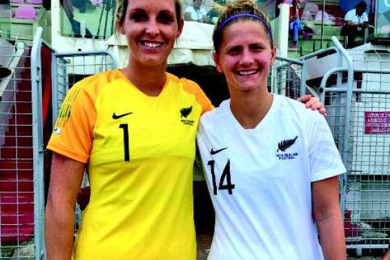 La gardienne de la Nouvelle-Zélande joue en D1 française