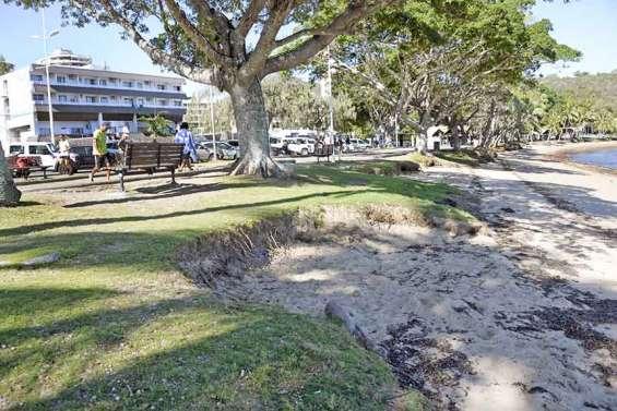 Poursuite des études pour lutter contre l'érosion de l'Anse-Vata