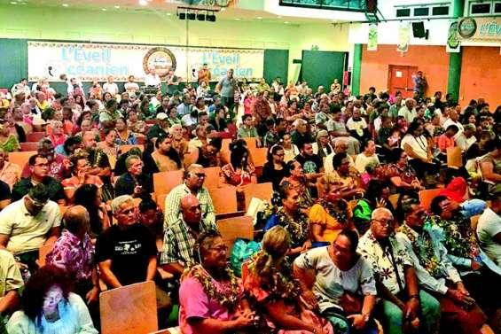 L'Eveil océanien fait le plein au Dock socioculturel de Païta