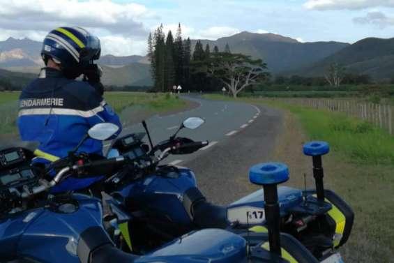 Nepoui : un automobiliste flashé à 154 km/h sur une zone limitée à 70 km/h