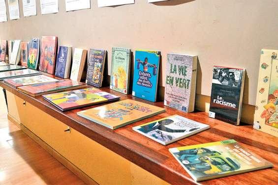 L'exposition sur la citoyenneté a débuté à la médiathèque
