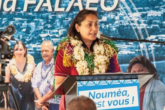 Veylma Falaeo présente son comité au public