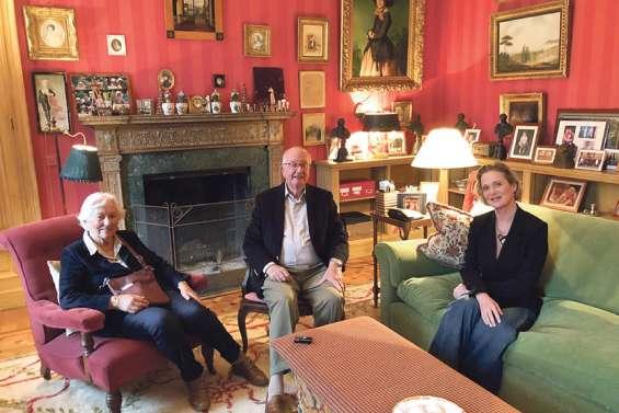 La famille royale à l'heure de la réconciliation