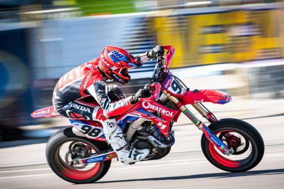 Supermotard : Laurent Fath en tête du championnat de France