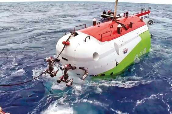 Un submersible chinois au fond de la fosse des Mariannes