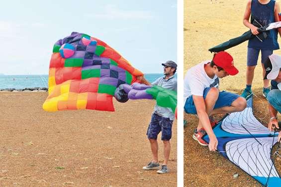 Fête du vent : les cerfs-volants ont coloré le ciel de Boulari